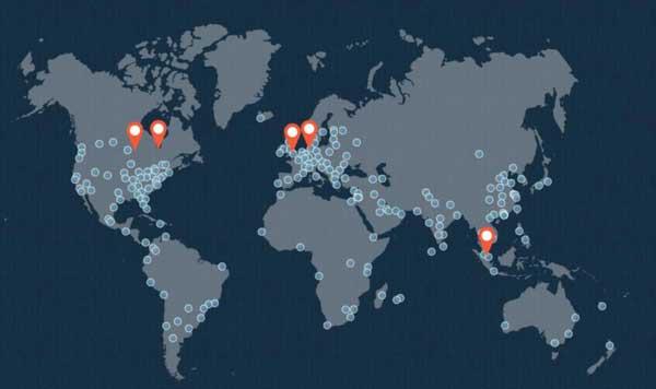 Wordpress服务器地址及Cloudflare服务器地址
